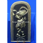 The Lady who Bagan Dance one set made Brass