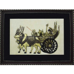 Minglar Cart Embossed Painting