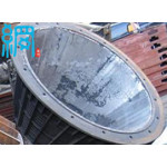 Wedge wire screen basket for mining industry