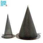 Conical strainers for pipeline filter