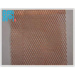 Expanded metal mesh for battery mesh