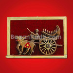 Handicraft Cart Made Of Teak Wood