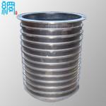 Wedge Wire Basket Slotted Pressure Screen Basket
