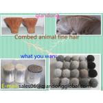 combed animal fine hair