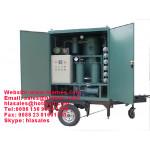 Mobile Trailer Vacuum Transformer Oil Purifier