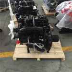 Engine diesel with clutch driven water pump for irrigation
