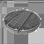 Wire mesh demister pads for oilfield
