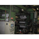 Stack type 6 color Flexographic printing machine